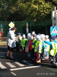 Занятия по изучению правил дорожного движения с воспитанниками подготовительных групп